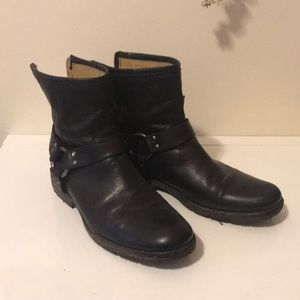 Frye Phillip Harness Ankle Boot